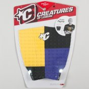 Creatures Dusty Payne Tailpad (Purple/Yellow) Tailpad