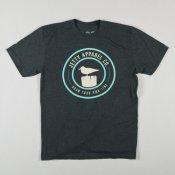 Jetty Perch T-Shirt (Charcoal Heather)